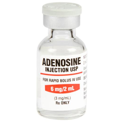 Adenosine 6mg, 2ml Vial