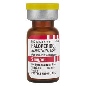 *Pack Quantity* Haloperidol Vial, 1mL, 5mg