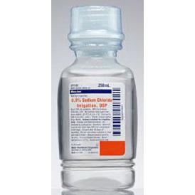 Sodium Chloride 0.9%, for Irrigation