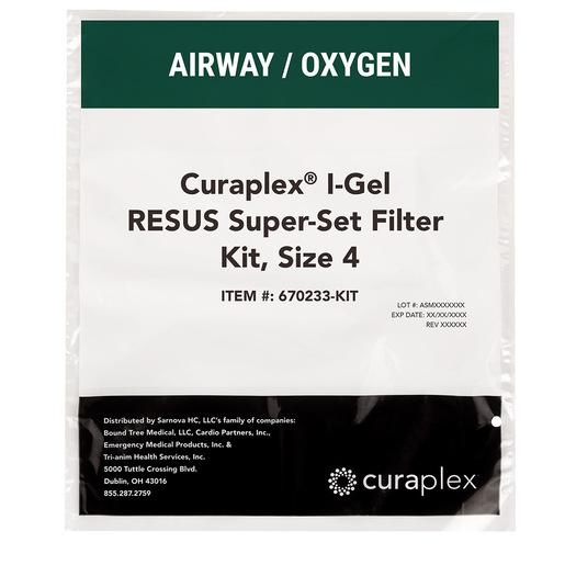 Curaplex® I-Gel RESUS Super-Set Filter Kits