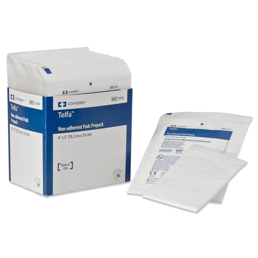 """Telfa™ """"Ouchless"""" Non-Adherent Dressing, Sterile"""