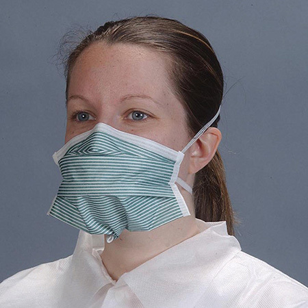 Face Mask, Particulate Respirator, PFL N-95, Teal Stripe