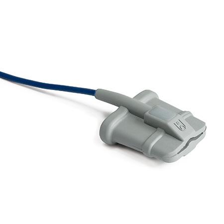 Pulse Oximeter Sensor, Reusable, 3ft, Finger, Soft Tip, Adult Large