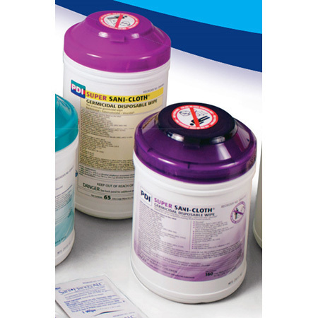 Super Sani-Cloth Germicidal Disposable Wipe, Large Canister