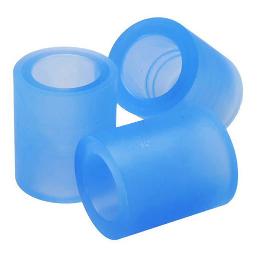 Flexible Adapter, Silicone, Soft Blue, 22 mm Female ID x 22 mm Female ID