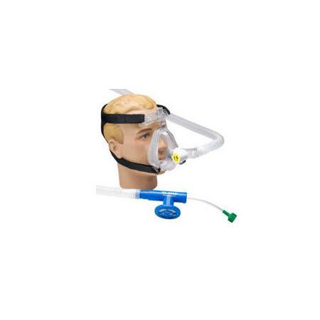 Face Mask, O2-RESQ, BiTrac ED, Full Face, Adult Medium, Head Strap, Single Patient Use