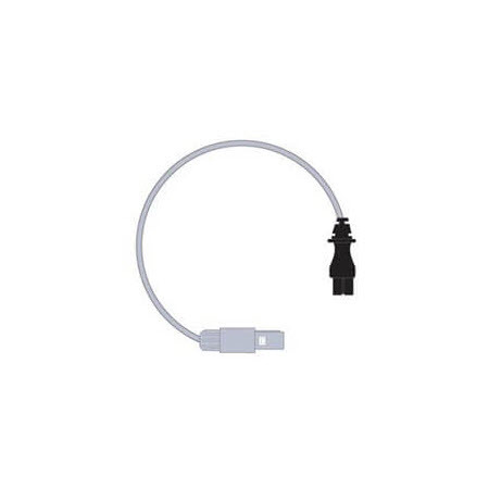 Single Heated Wire Humidifier Adapter Lead