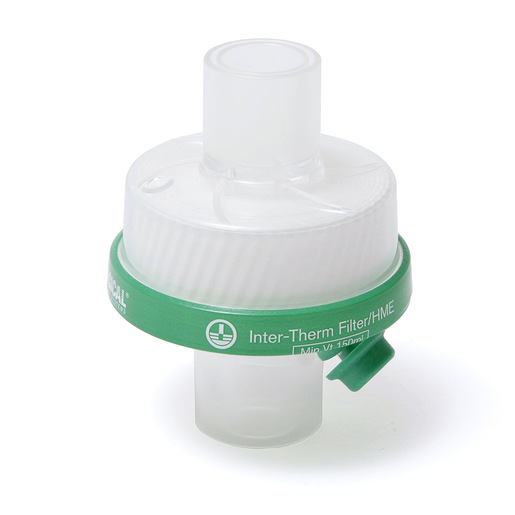 Inter-Therm™ >99.998% Filtration Efficiency HMEF, with Luer Lock Port