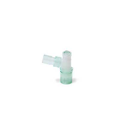 Double swivel elbow 15M - double flip top cap with seal - 22M/15F