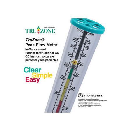 TruZone® Peak Flow Meter Instructional CD