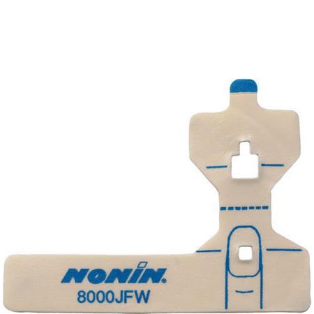 Pulse Oximeter Adhesive Finger Wrap, FlexiWrap, Disposable, Adult