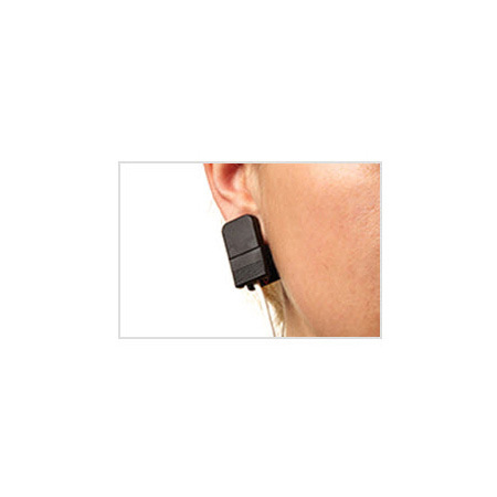 Pulse Oximeter Sensor, PureLight, Ear Clip, Adult, Patient Range > 88 lbs, Reusable, 1-m Cable