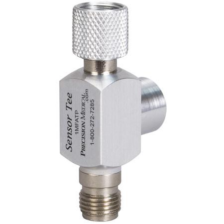 Reusable Oxygen Sensor Tee Piece, DISS Female by DISS Male Oxygen
