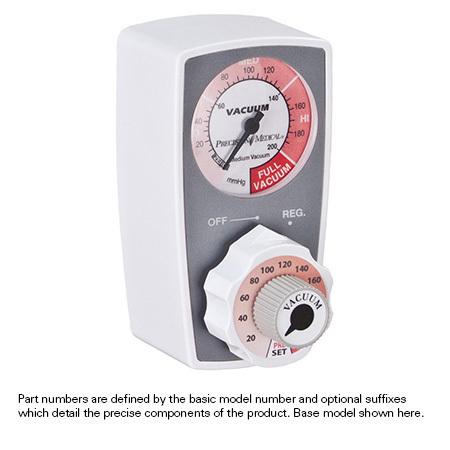 Continuous Vacuum Preset Suction Regulators, Tubing Nipple