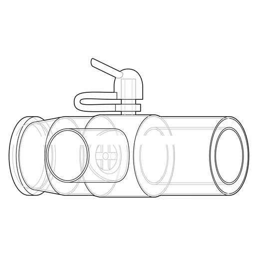 Exhalation Port, DEP, Filter Exhalation Port, No Filter, Disposable