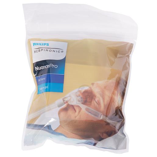 Nuance Pro Mask, Gel Pillow, w/Headgear