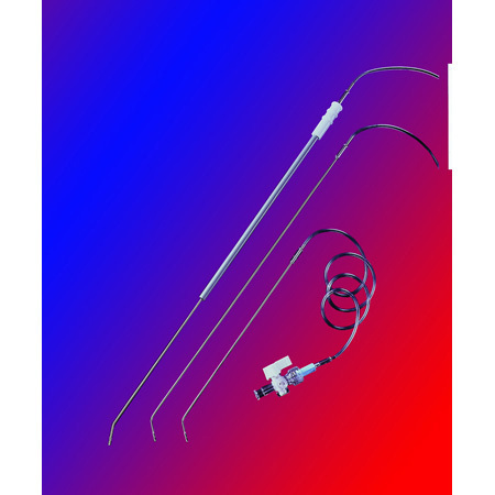 Cholangiography Catheter, Port Insertion, 4 Fr at Tip, 3-Way Stopcock, 19-in PVC Tubing, Disposable