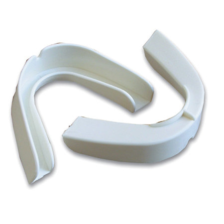 Tooth Protector, Polypropylene, Disposable, White, Adult