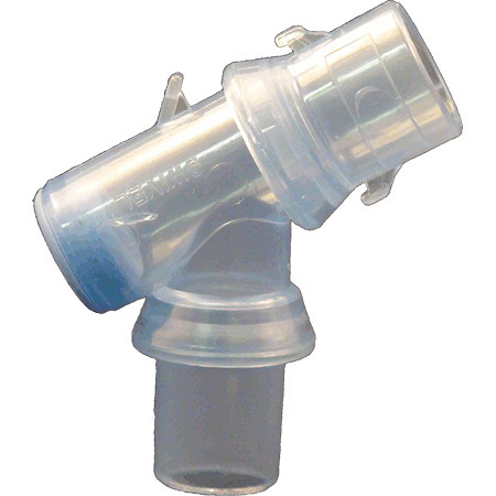 Suction-SAFE™ Y Swivel Airway Connector
